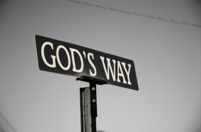 God's-way-sign
