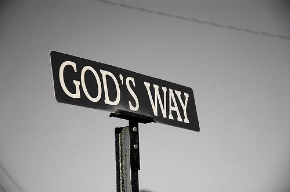 God's-way-sign