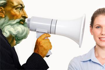 megaphone-god