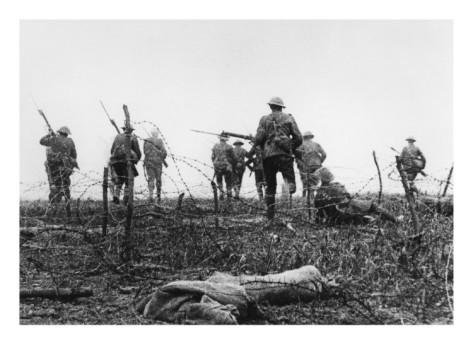 The Battle of the Somme July 1, 1916